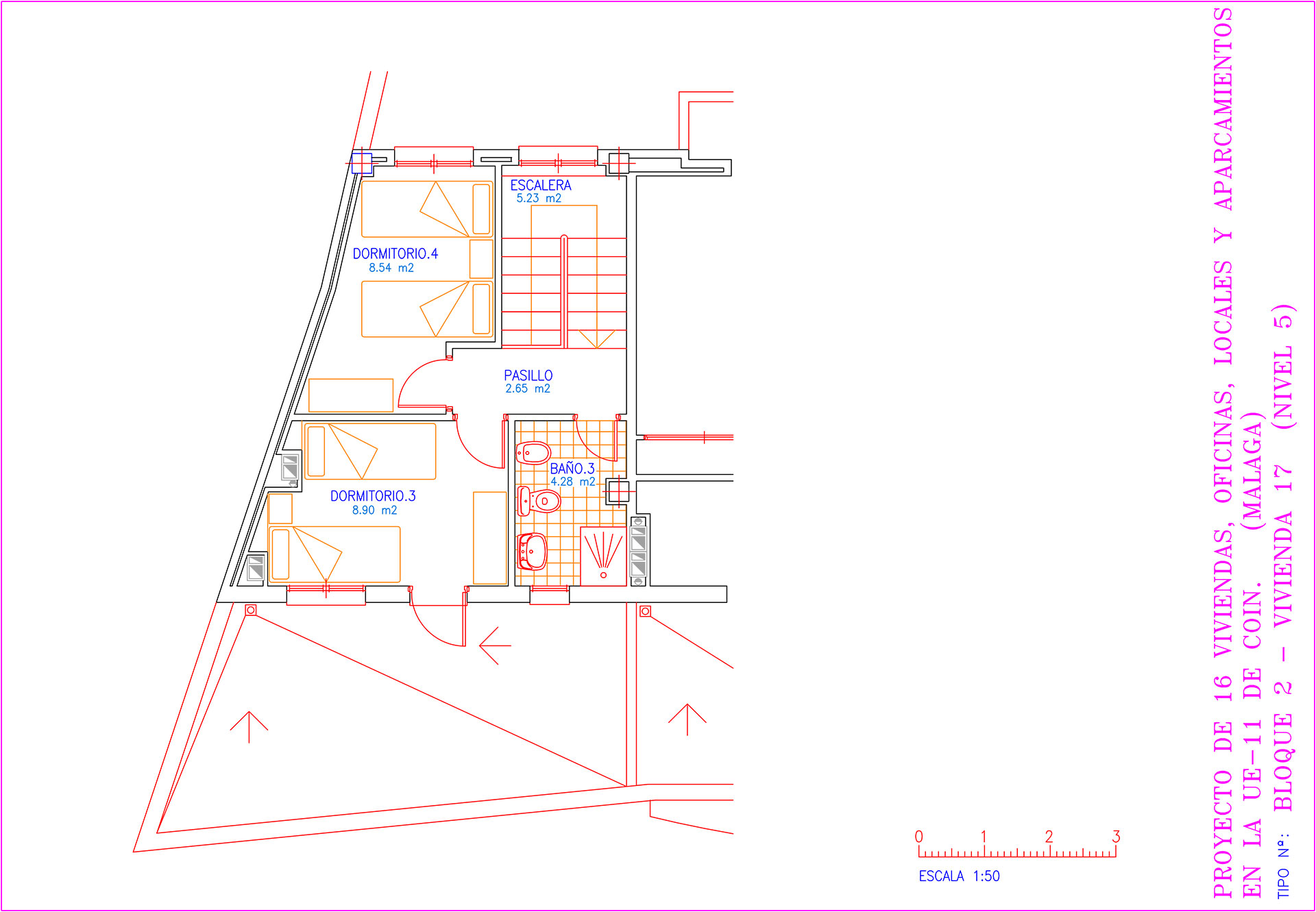 Edificio La Cima, Portal 2, 4º B